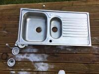 1.5 stainless steel sink