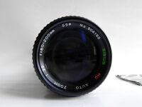 Sirius 80-200mm F:3.9 Macro Continuous Focus Zoom Multi-Coated Lens SN:904169