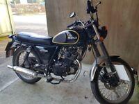 Herald classic 125cc motorbike (£900 ONO)