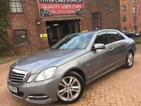 MERCEDES BENZ E CLASS E220 CDI BLUEEFFICIENCY EXECUTIVE SE (silver) 2012