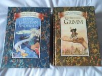 Two beautiful story books. The Brothers Grimm and Hans Christian Anderson