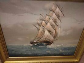 Vintage oil paintings