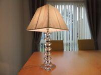 OKA Crystal Base Table Lamp.