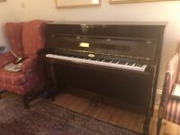 Pre-owned Kemble Oxford II upright piano - manufactured in England 2004
