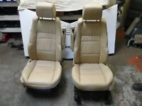 RANGE ROVER SPORT L320 FRONT LEATHER SEATS WITH TV SCREENS VW T5 CONVERVERSION