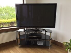 """Samsung 50"""" 3D plasma display TV with stand and 3D glasses £225"""