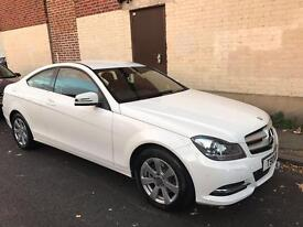 White Mercedes in excellent condition!