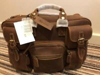 Genuine Leather Bag - Office Briefcase