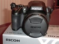 RICHO PENTAX-XG-1 Camera with Leather Carry Case, Excellent Condition