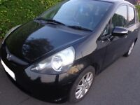 AUTOMATIC 56 reg black honda jazz 1.4 5 door+service history moted+cheap tax DRIVEAWAY OR DELIVERY