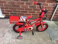 Boys bike 12inch vg used condition