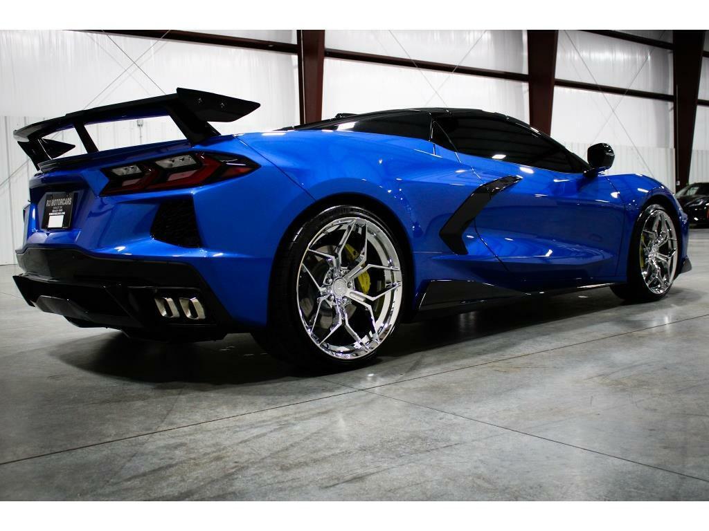 2021 Blue Chevrolet Corvette   | C7 Corvette Photo 5