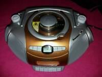 Fidelity HiFi System cd Cassette boombox