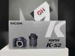 Boxing Day Sale - Pentax K-S2 DSLR Camera with 18-135mm Lens (Black) Brand New In Box