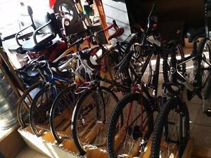 Plusieurs vélo haut de gamme