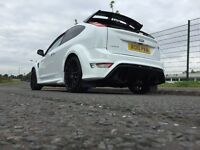 FOCUS RS IN STUNNING FROZEN WHITE!