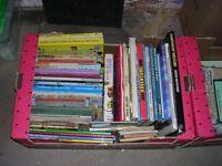 Box of 61 Books/Childrens Annuals etc
