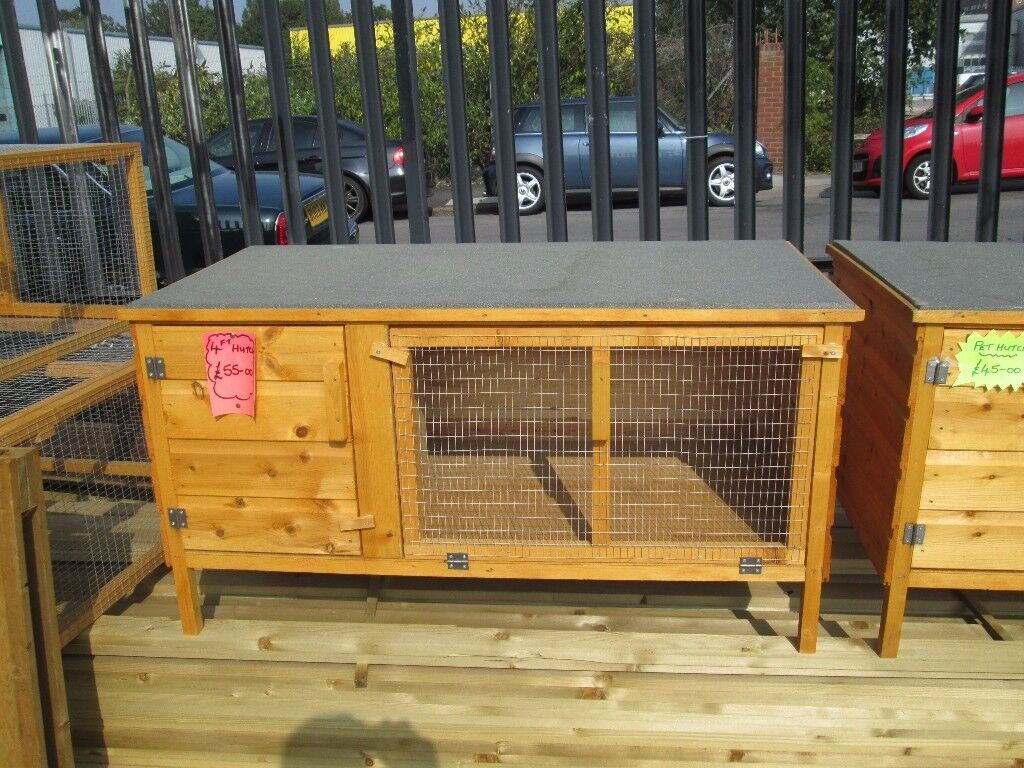 4ft rabbit hutch for sale new