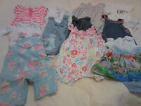 New Born 0 -3 baby girl clothes bundle. Immaculate condition. Please see all 6 photos. Pick up only.