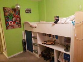 Kids Cabin Bed plus mattress