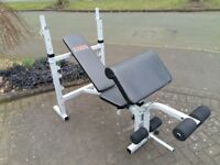 YORK FITNESS B530 HEAVY DUTY WEIGHTS BENCH - Flat - Incline - Decline