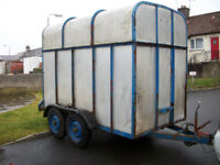 Cattle/Horse Trailer Approx 10x5