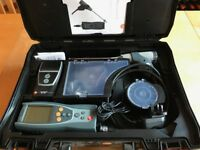 Testo 327 Flue Gas Analyser kit, complete with printer, almost new, in case