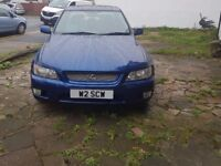 LEXUS IS200 EXCELLENT DRIVE AND CONDITION-PVT PLATE-AUTOMATIC-MOT TILL MAY 2018