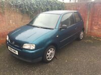 SEAT AROSA 1.7 SDI DIESEL SMALL DIESEL CAR GREAT MPG LONG MOT