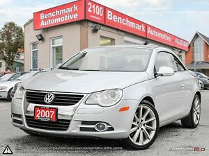 2007 Volkswagen Eos 2.0T LUXURY-18'S-CLIMATE-LEATHER-PANORAMIC-L