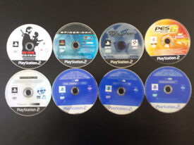 8X for £2 Playstation 2 PS2 games MAX PAYNE SPIDER MAN PES other available