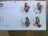 Compact shiatsu massager