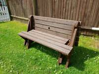 The bench company convertible bench.