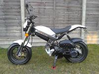 Suzuki TR50 SW Street Magic (Custom Moped Monkey bike)