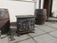 Yeoman log burner multi fuel stove
