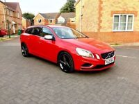 2012 VOLVO V60 R-DESIGN 1.6 DIESEL, £30 TAX, 70 MPG, MOT JUN 2019, SERVICE HISTORY, HPI CLEAR