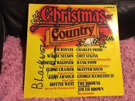 Christmas Country Vinyl Record