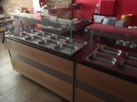 3 Used 8 Month IGLOO GLH-1500 Gastroline 1.5m Wide Heated Buffet Display just for £980.00,