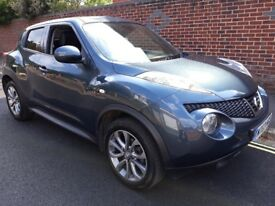 Nissan Juke 1.6 16v Tekna CVT 5dr SAT NAV full service history rear camera auto lights and wipers
