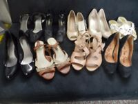 ASSORTMENT OF LADIES SHOES SIZE 4