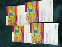 Edexcel business a-level revision guides for sale  Kings Norton, West Midlands