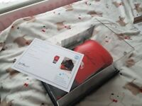 genuine anthony joshua signed glove and display case with authenticity certificate and photo