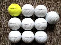 11 Callaway Chrome Soft golf balls in excellent condition