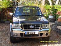 Ford Ranger XLT Thunder Double Cab Pickup Black/Grey 4wd 2005