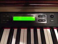 Yamaha Clavinova CLP-150 Digital Piano and stool, Full Size, top of the range piano. FREE DELIVERY!