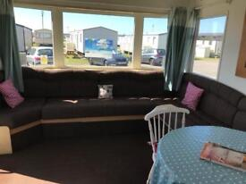 Camber sands holiday park three bedrooms caravan for hire