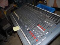 SOUNDCRAFT SPIRIT MONITOR DESK - UNTESTED