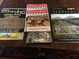 Free: Selection of archaeology books and magazines
