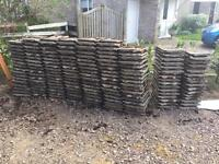 Interlocking Concrete Marley roof tiles (approximately 315)