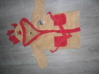 Next 18mnths-2yrs reindeer dressing gown